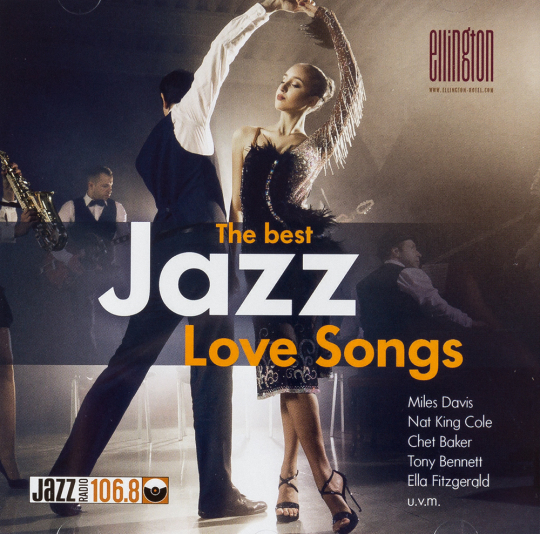 The best Jazz Love Songs. CD.
