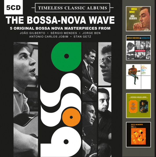 The Bossa-Nova Wave. Timeless Classic Albums. 5 CDs.