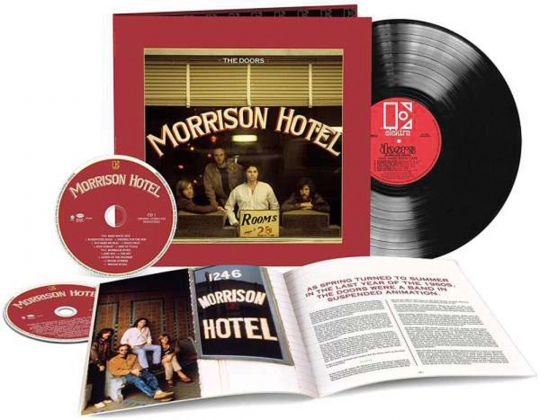 The Doors. Morrison Hotel (50th Anniversary Deluxe Edition). 1 LP, 2 CDs.