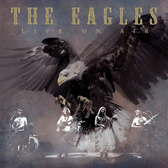 The Eagles. Live on Air 1973-76. 4 CDs.