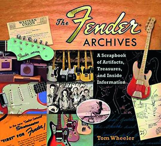 The Fender Archives. Ein Album voller Artefakte, Schätze und Insider-Informationen.