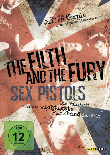 The Filth And The Fury (OmU). DVD.