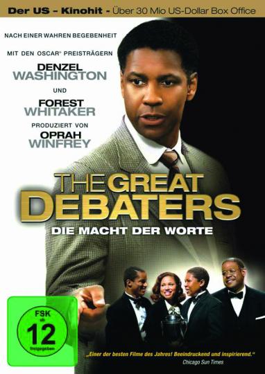 The Great Debaters. Die Macht der Worte. DVD.