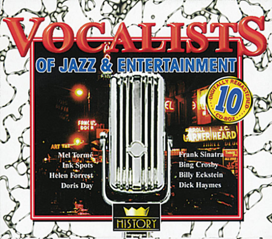The great Vocalists of Jazz & Entertainment. 40 CDs.