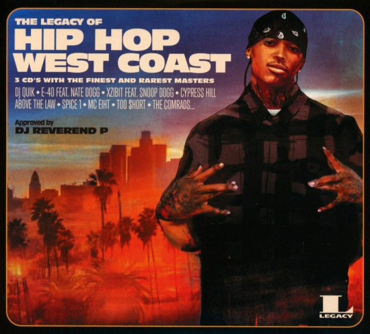 The Legacy of Hip Hop West Coast. 3 CDs.