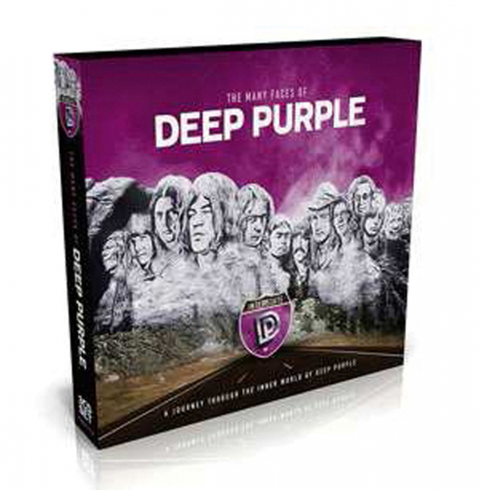 The Many Faces of Deep Purple. 3 CDs.