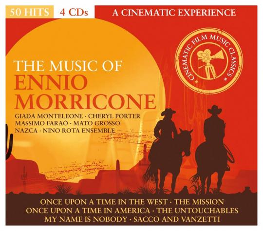 The Music Of Ennio Morricone. 4 CDs.