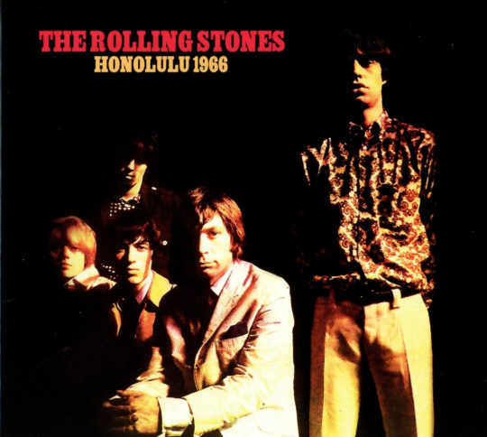 The Rolling Stones. Honolulu 1966. CD.