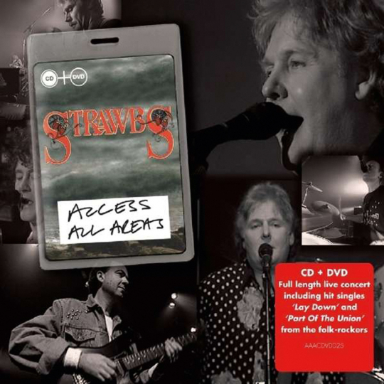 The Strawbs. Access All Areas. CD + DVD.