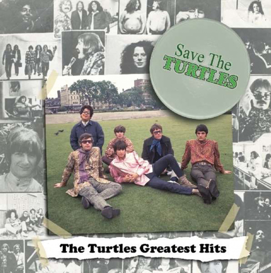 The Turtles. Save The Turtles (Greatest Hits). LP.