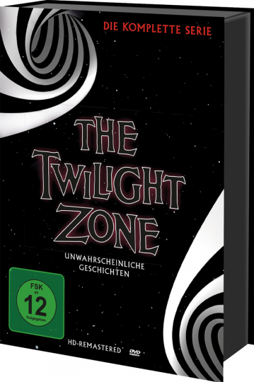 The Twilight Zone (Komplette Serie). 30 DVDs.