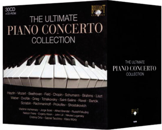 The ultimate Piano Concerto Collection.