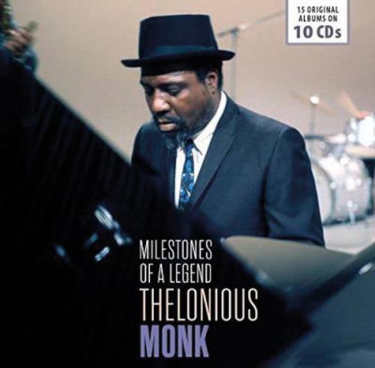 Thelonius Monk. Milestones Of A Legend. 15 Alben. 10 CDs.