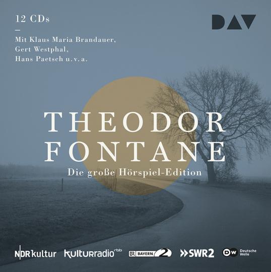 Theodor Fontane. Die große Hörspiel-Edition. 12 CDs.