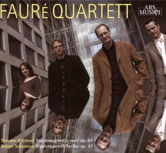 Theodor Kirchner. Klavierquartett op. 84. CD.