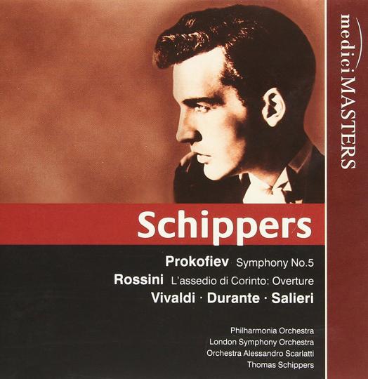 Thomas Schippers. Dirigiert. CD.