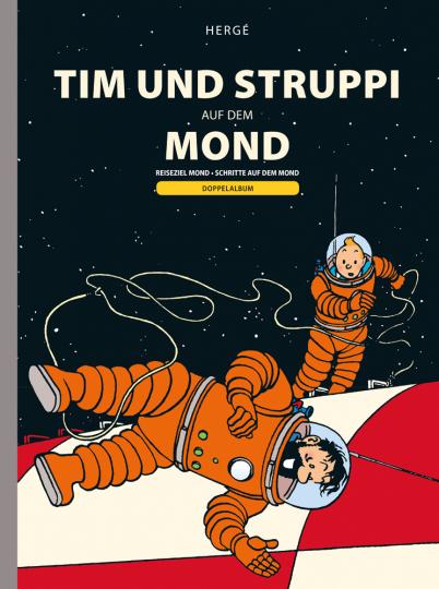 Tim und Struppi auf dem Mond. Doppelband zur Mondlandung.