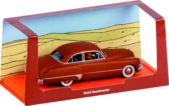 Tim und Struppi. Buick Roadmaster aus »Im Reiche des Schwarzen Goldes«. Modell.