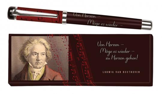 Tintenroller Ludwig van Beethoven.