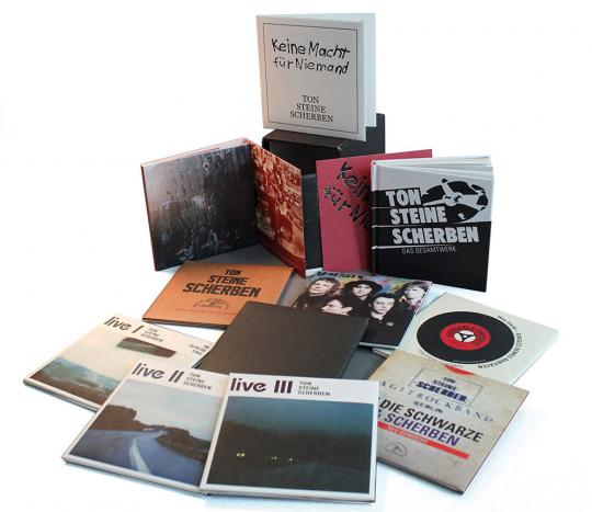 Ton Steine Scherben: Das Gesamtwerk (Limitierte Edition). 13 CDs & Buch