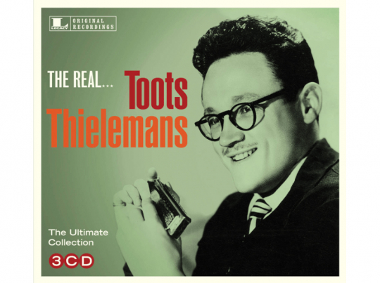 Toots Thielemans. The Real... Toots Thielemans. 3 CDs.