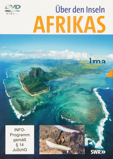Über den Inseln Afrikas. Mauritius, Sansibar, Madagaskar, Kapverden, Sao Tomé und Principe. 5 DVDs.
