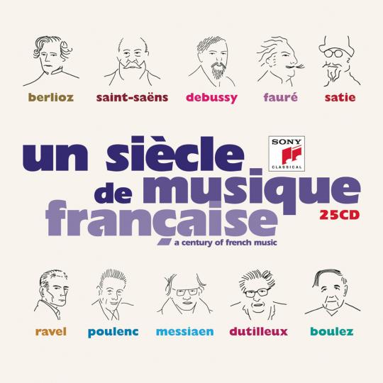 Un Siecle de Musique Francaise - A Century of French Music. 25 CDs.