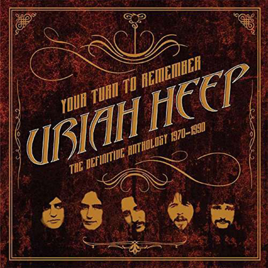 Uriah Heep. Your Turn To Remember. The Definitive Anthology. 2 CDs.