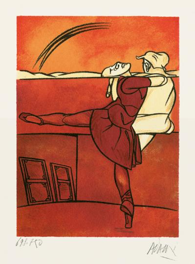 Valerio Adami »Ballett«