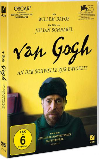 Van Gogh. An der Schwelle zur Ewigkeit. DVD.