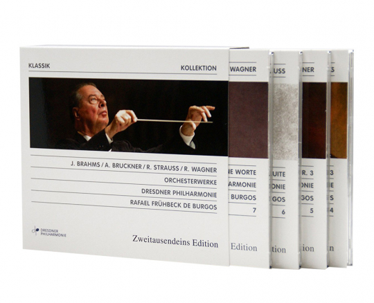 Verschiedene Interpreten. Dresdner Philharmonie Box-Set. 4 CDs.