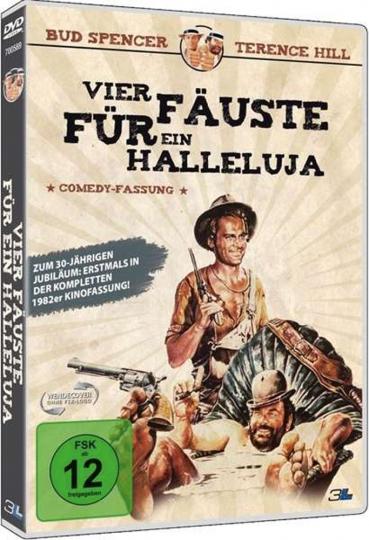 Vier Fäuste für ein Halleluja (Comedy-Fassung). DVD.