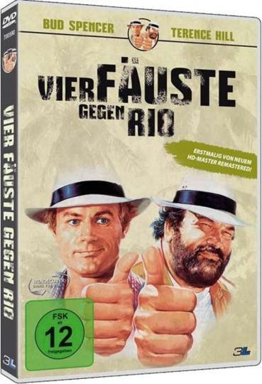 Vier Fäuste gegen Rio. DVD.