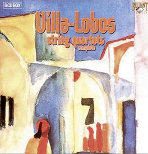 Villa Lobos - String Quartets Complete. 6 CDs.