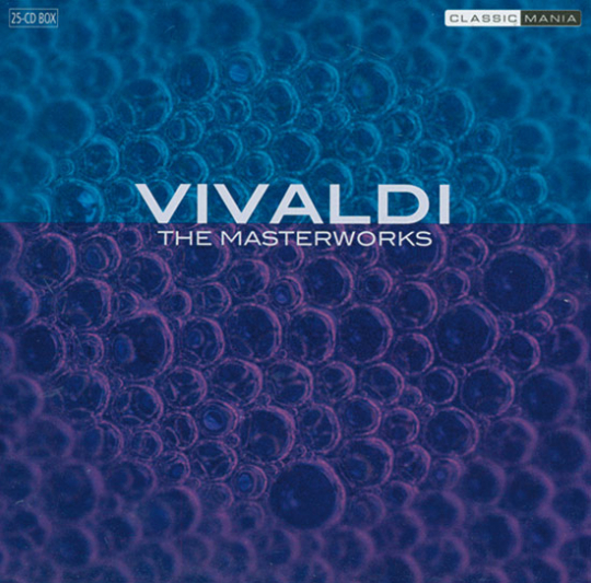 Vivaldi - The Masterworks. 25 CDs.