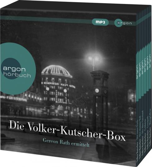 Volker Kutscher Hörbuch-Box. 6 mp3-CDs.