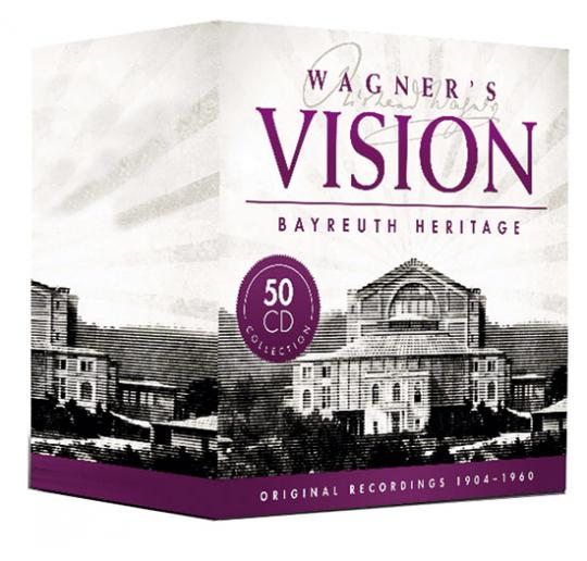 Wagners Vision. Das Bayreuther Vermächtnis. 50 CD-Set.