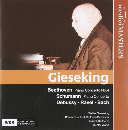 Walter Gieseking spielt. CD.