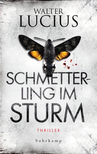 Walter Lucius. Schmetterling im Sturm. Thriller.