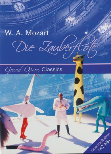 W. A. Mozart. Die Zauberflöte. DVD.