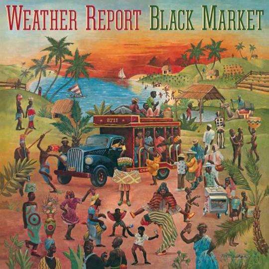 Weather Report. Black Market (180g). LP.