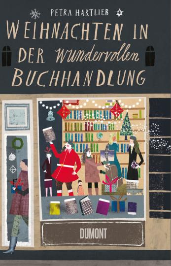 Weihnachten in der wundervollen Buchhandlung.