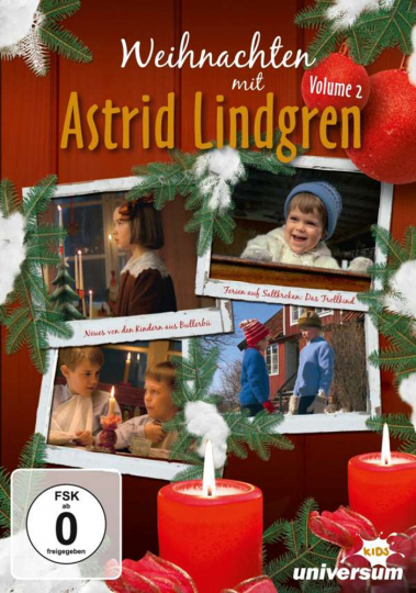 Weihnachten mit Astrid Lindgren 2. DVD.