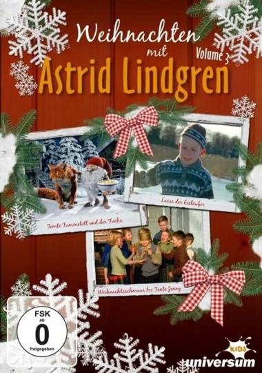 Weihnachten mit Astrid Lindgren 3. DVD.