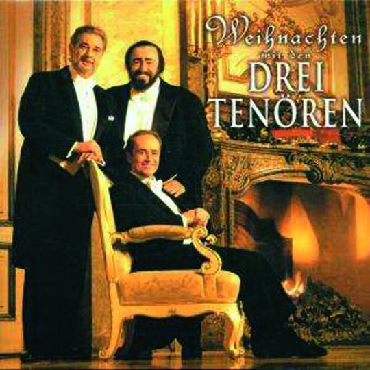 Weihnachten mit den Drei Tenören. CD.