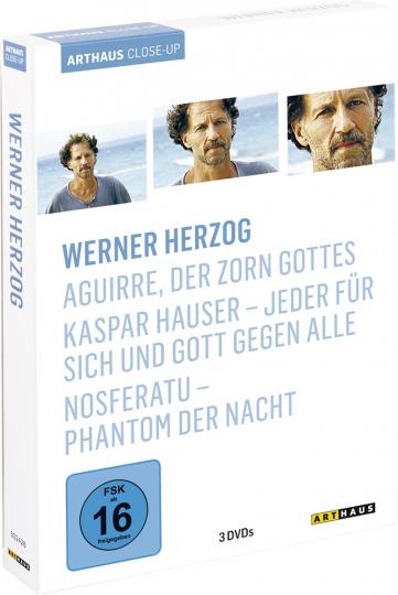 Werner Herzog. Aguirre, der Zorn Gottes, Kaspar Hauser - Jeder für sich und Gott gegen alle, Nosferatu - Phantom der Nacht. 3 DVDs.