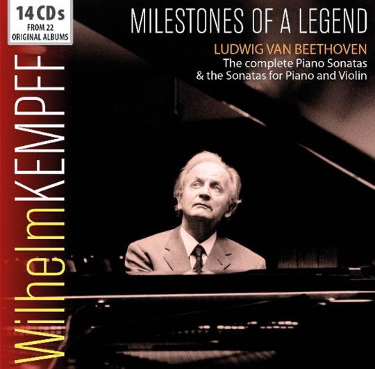Wilhelm Kempff. Milestones of a Legend. 14 CDs.