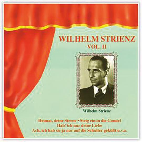 Wilhelm Strienz - Vol. II CD