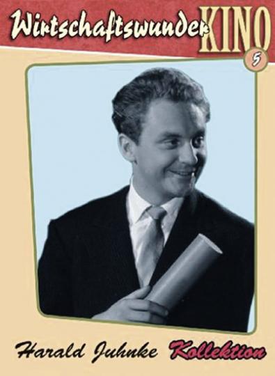 Wirtschaftswunderkino Folge 5. Kollektion Harald Juhnke. 3 DVDs.