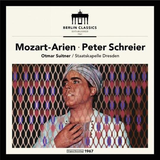 Wolfgang Amadeus Mozart. Arien. Vinyl LP.